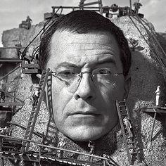 Stephen Colbert by Martin Schoeller Martin Schoeller, Inside The Actors Studio, Actor Studio, Stephen Colbert, Fun Shots, Grab Bags, Rolling Stones, Make Me Smile, Illusions