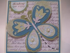 Thinking of You (using Florals Embellished and Lori's Garden) - Melanie Brown