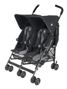 Stroolers. Maclaren Twin Triumph Stroller by Best Baby Jogging Strollers Reviews. These all purpose go fast buggies for two have a high-performance aluminum frame and feature a one-hand compact umbrella fold, a height adjustable 5-point harness for added security and has multiple reclining positions with adjusting straps.  $239.99