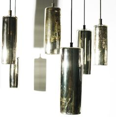 Vase into Mercury Glass Pendent Light [West Elm Inspired]