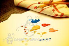Come trasformare le matite in timbri decorativi on http://cosefatteincasa.it