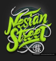 Latest Typography by Marcelo Schultz