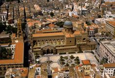 Veduta dall' alto cattedrale palermo - Cerca con Google