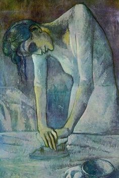 My favorite,,,Woman Ironing  Artist: Pablo Picasso @ the Guggenheim NYC