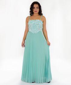 Φόρεμα Μουσελίνα Πράσινο   Vaya Fashion Boutique