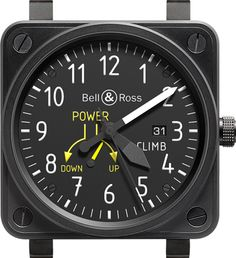 Bell & Ross BR 01 Aviation Instrument Watches For 2013 Watch Releases Fine Watches, Sport Watches, Cool Watches, Watches For Men, Dream Watches, Men's Watches, Unique Watches, Bell Ross, Fancy Clock