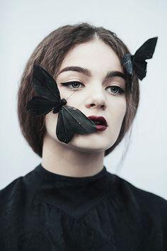 #butterflies#black