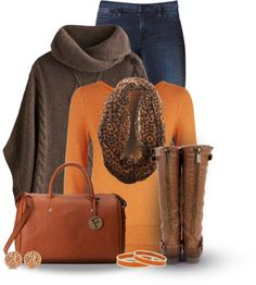 'Pumpkin' Fall Outfit Combination