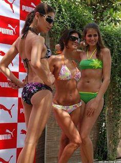 Trio Israeli Bikini Girls