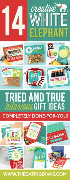 White Elephant DIY gifts - Easy and HILARIOUS!