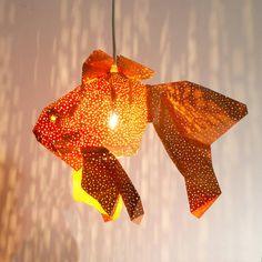 DIY Fish Lamp Kids Room Nightlight Nursery lamp Modern | Etsy