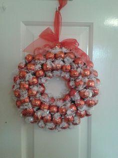 Lindt Lindor sweetie wreath