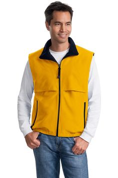 The first time ever at this discount. Get Mens Reversible Fleece Vest - Elastic waistband at 33% off. One Week Only. Custom port authority jackets. http://truetosizeapparel.com/mens-reversible-fleece-vest-elastic-waistband/   #waterresistantproof #customportauthorityjackets