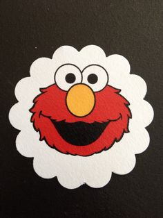 A personal favorite from my Etsy shop https://www.etsy.com/listing/455619958/lot-of-30-elmo-treat-tags-thank-you-tags