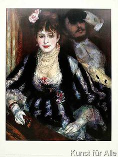 Pierre Auguste Renoir - Die Loge