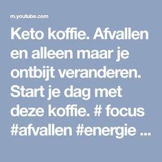 Keto koffie. Afvallen en alleen maar je ontbijt veranderen. Start je dag met deze koffie. # focus #afvallen #energie #mct olie #grasboter. Www.wrapbybibi.nl