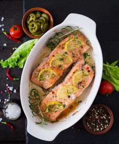 Salmon is a healthy, nutritious and flavourful source of protein. This article will look at how to cook salmon, simply and efficiently. Keto Recipes, Healthy Recipes, Salmon Dishes, Cooking Salmon, Protein Sources, Keto Meal Plan, Weight Loss For Women, Zucchini, Meal Planning