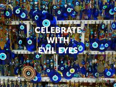 I have a gorgeous evil eye that was brought back from Turkey. I always hang it facing the main entrance of my home to ward off unwelcome people ;)