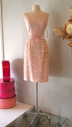 60s Dress Vintage 1960's Cute Cupcake Party by xtabayvintage, $148.00.