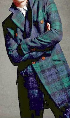 I can't imagine a world without tartan, and I especially love this gorgeous plaid during the holidays! Christmas and tartan go together at. Tartan Decor, Tartan Men, Love Fashion, Mens Fashion, Scottish Plaid, Scottish Fashion, Plaid Outfits, Scottish Terrier, Houndstooth