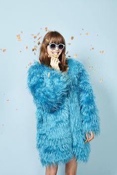 Cookie Monster fur