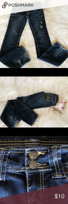Twentyone Black- Rue 21 Jeans Twentyone Black- Rue 21 Jeans Size 1/2 Inseam 32 Rise 8 Rue 21 Jeans Boot Cut