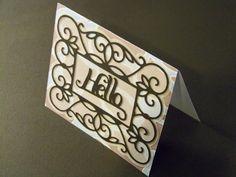 Just Because card - Ornamental Iron 2 Cartridge [2000940] - Cricut Forums