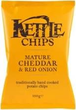 Cheddar and Red onion, spinach and mascarpone! #dips, #snacks, @mykalamea, #kettlechips