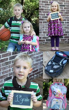 #BackToSchool - First day of school picture tips