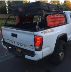 Camping Tips For Families – All You Need For Family Camping Tacoma Truck, Jeep Truck, Truck Camper, 2017 Toyota Tacoma, Toyota Tundra, Tacoma Bed Rack, Overland Tacoma, Bed Cap, Tacoma Accessories