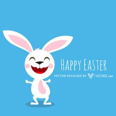More than 4 millions free vectors, PSD, photos and free icons. Exclusive freebies and all graphic resources that you need for your projects Easter Bunny Origin, Happy Easter Bunny, Vector Free Download, Free Vector Graphics, Free Vector Art, Fun Easter Games, Easter Symbols, Easter Bunny Pictures, Rabbit Vector