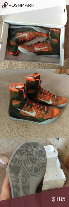 Kobe 9 high tops Size 10.5 Brand new In The Box Nike Shoes Athletic Shoes