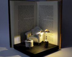Book Sculpture Book Arts Altered Book House by MalenaValcarcel