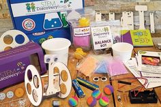 STEM Discovery Boxes - STEM Science for Kids