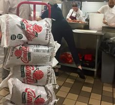 And Camellia beans sent 1,200 pounds of beans to the Louisiana Culinary Institute.  Louisiana 2016 flood