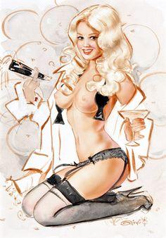 Erotic new years cartoons