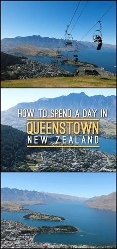 A day in Queenstown, New Zealand -- from walking around Lake Wakatipu to seeing the town from the top of the Skyline gondola.