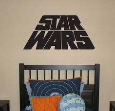 STAR WARS  Vinyl Wall Decal Art Words Movie by urbanexpressions
