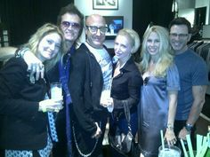 Me and my friends and Gab... Paul and Kerrie Geary and Kenny and Gina Aronoff @ JV Hollywood ~ Wednesday, October 17th, 2012.