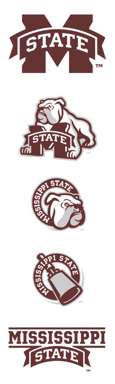 Mississippi State Athletics - The Joe Bosack Graphic Design Co. Mascot Design, Logo Design, Sports Day Outfit, Sports Shoes For Girls, Famous Logos, Great Logos, Mississippi State, Game Logo, Graphic Design Illustration