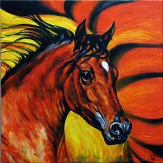 horses-joartcologne.blogspot.com Arabian Stallion
