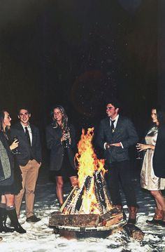 Classy Girls Wear Pearls: The Luxury of Boys and Bonfires Part II                             this is a dream