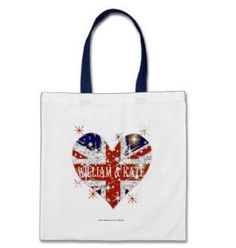 William and Kate Union Jack bag