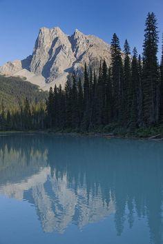 ✮ Mount Burgess reflects in an alpine lake - British Columbia, Canada