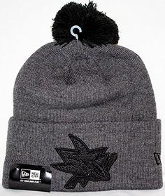 buy popular d1039 e913a San Jose Sharks New Era NHL Team Eclipse Cuffed Knit hat