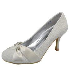 Noni GYAYL038 Womens High Heel Closed Toe Ivory Lace Evening Party Bridal Wedding Knot Shoes Pumps 10 M US Noni,http://www.amazon.com/dp/B00GUIKQZU/ref=cm_sw_r_pi_dp_8oxKsb0T6GEVVGZV