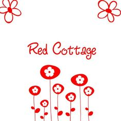 Farm Name, Red Gingham, White Cottage, Red Apple, Shades Of Red, Little Red, Color Themes, Red And White, Romantic