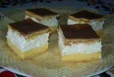 Mézes francia krémes Just Eat It, Hungarian Recipes, No Bake Cake, Tiramisu, Cheesecake, Food Porn, Pudding, Sweets, Baking