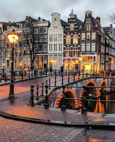 Lovely canals ~ Amsterdam, Netherlands Phot