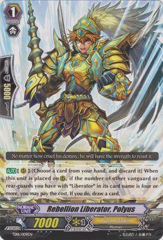 Rebellion Liberator, Polyus - Cardfight!! Vanguard Wiki